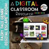 Digital EscapeⓇ Room Breakout Fairy Tale Genre Distance Learning