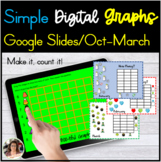 Monthly Graphing Activities for Google Slides Distance Learning
