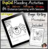 Digital Reading Activities Printables Seesaw Distance Learning