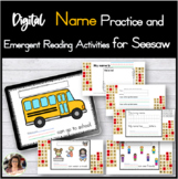 Name Practice Activities for Seesaw