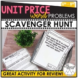 Unit Price Word Problems | Scavenger Hunt