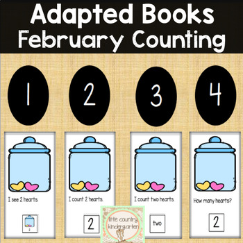 Counting Adapted Books: February Valentines