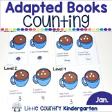 Math Adapted Books: January Winter