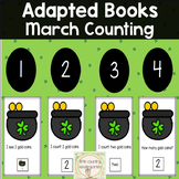 Counting Adapted Books: March St. Patrick's Day