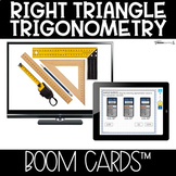 Boom Cards™ Right Triangle Trig DISTANCE LEARNING