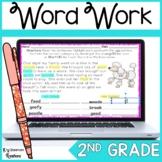Distance Learning Diphthong & Vowel Teams Word Work