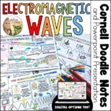 Electromagnetic Waves Spectrum Cornell Doodle Notes