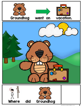 Groundhog's Vacation- ADAPTED BOOK