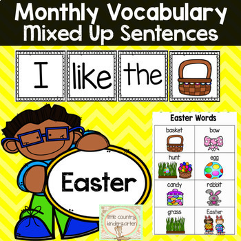 Mixed Up Sentences: Easter