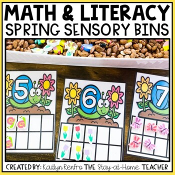 Spring Preschool Sensory Bin Activities