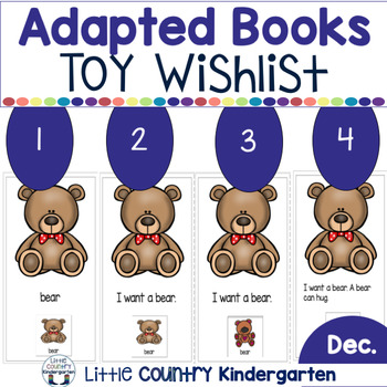 Toy Wishlist Adapted Books
