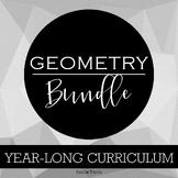 Year-Long Geometry Curriculum Growing Bundle