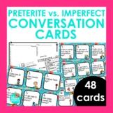 Preterite vs Imperfect Conversation Cards | Spanish Speaki