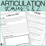 S and Z Articulation Stories with Language Component
