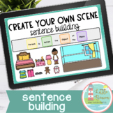 Create Your Own Scene | Sentence Building Boom Deck