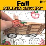 Fall Articulation Stuffer Craft