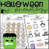 Halloween Phonology Printables