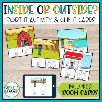 Inside or Outside - Basic Concept Activities Adapted for Autism