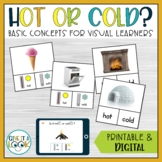 Life Skills Special Education Activities | Hot or Cold