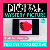 Present Progressive Spanish Digital Mystery Picture   Día