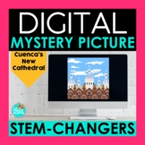 Present Stem Changing Verbs Digital Mystery Picture   Cuen