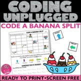 Unplugged Coding Banana Split