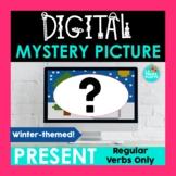 Winter Christmas Spanish Present Tense Digital Mystery Pic