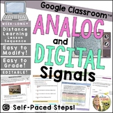 Analog and Digital Signals Distance Learning Lesson