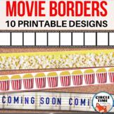 Printable Bulletin Board Borders, Hollywood Decor, Classroom Display