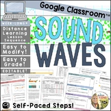 Sound Waves Distance Learning Lesson