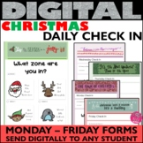 Daily Check In Christmas