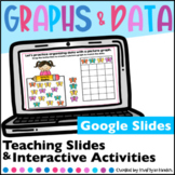 Data and Graphing Google Slides   Distance Learning