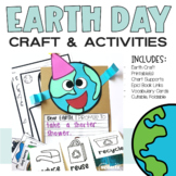 Earth Day Craft and Earth Day Activities (Reduce Reuse Recycle)