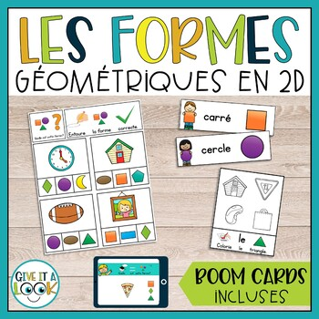 Les formes géométriques en 2D
