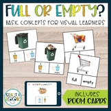 Life Skills Special Education Activities   Full or Empty