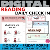 Read Across America Daily Check In