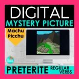 Regular Preterite Verbs Digital Mystery Picture   Machu Pi