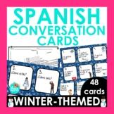 Spanish 1 Conversation Cards Winter Edition | Spanish Spea