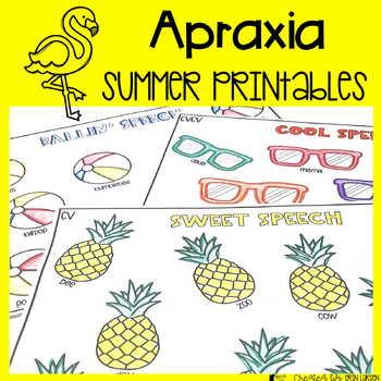 Summer Apraxia of Speech