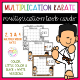 Multiplication Karate Task Cards (x2, x3 and x4)