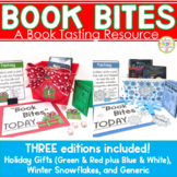 Book Bites Book Tasting Resource Three Editions Holidays & Winter