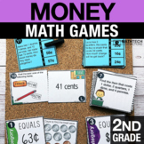 2nd Grade Counting Money Math Centers   Math Games 2.MD.8