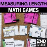 2nd Grade Measuring Length Math Centers - Math Games   2.M