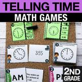 2nd Grade Telling Time Math Centers   2nd Grade Math Games
