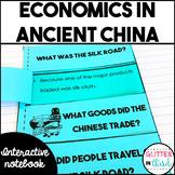 Ancient China economics activities interactive notebook