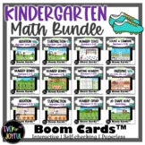 BUNDLE: Kindergarten Sports-Themed Math Boom Cards™