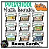 BUNDLE: Pre-K Math Sports-Themed Boom Cards™