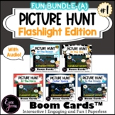 SET 1A: Flashlight Picture Hunt Boom Cards™ - Just For Fun, Part A (With Audio)