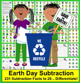 Earth Day Math: Subtraction