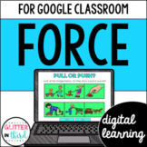 Force & Net Force for Google Classroom Distance Learning
